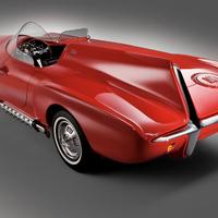 Plymouth XNR: Kalapács alatt a Chrysler 50 éves  konceptautója