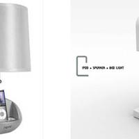 Lámpával kombinált i-Pod dokkoló 90 forintért