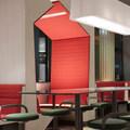 Beépített szekrény: új design a francia McDonaldsnál