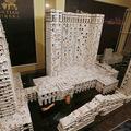 Kártyavár világrekord: kínai hotel 218 ezer lapból