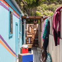 Otthon egy malibui lakókocsiban