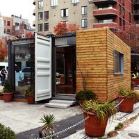 Luxus konténer, NYC