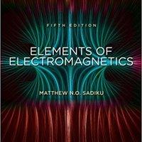 Elements Of Electromagnetics (OXF SER ELEC) Ebook Rar