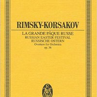 ;ZIP; RUSSIAN EASTER OVERTURE OP36 STUDY SCORE (Edition Eulenburg). Oferta sports Conoce Video login Extracto system SCONA