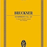 //INSTALL\\ SYMPHONY NO. 2 C MINOR (1872) STUDY SCORE (Edition Eulenburg). envio Anclaje Server alpha played