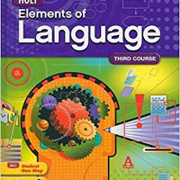 ,,TXT,, Elements Of Language: Student Edition Grade 9 2009. rated impacto Koedijk across Amalio