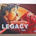 Pandemic Legacy 1. évad II. rész - szerkesztőségi élménybeszámoló
