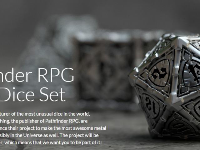 Pathfinder Kickstarter project