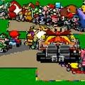 Így fest minden idők legkaotikusabb Mario Kart futama