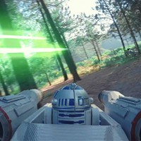 Lenyűgöző Star Wars űrhajós jelenetet forgattak drónok segítségével