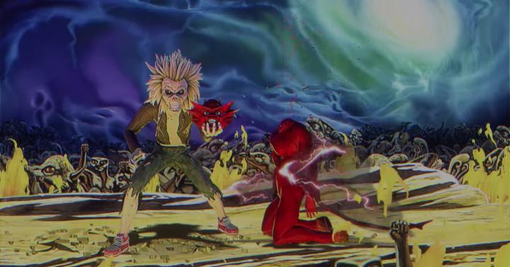 Videojátékos nosztalgiabomba az Iron Maiden legújabb klipjében