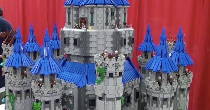 Óriási The Legend of Zelda kastély készült legóból