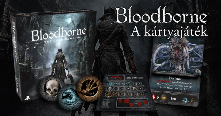 Bloodborne | a kártyajáték
