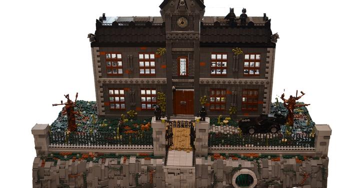 Így néz ki a 18 ezer darabos LEGO Arkham elmegyógyintézet