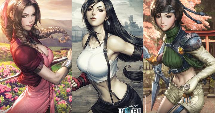 Elképesztő Final Fantasy VII illusztrációk érkeztek
