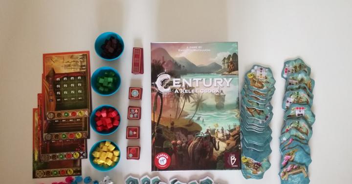Century – A kelet csodái társasjáték-ajánló