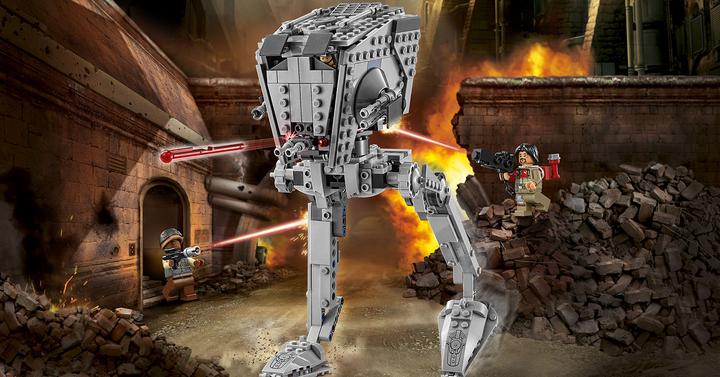 Megépítettük az új LEGO Star Wars Lépegetőt   75153 AT-ST Walker bemutató