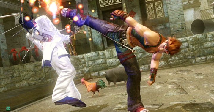 Egy kaszkadőr tökéletesen leutánozta Hwoarang mozdulatait a Tekkenből