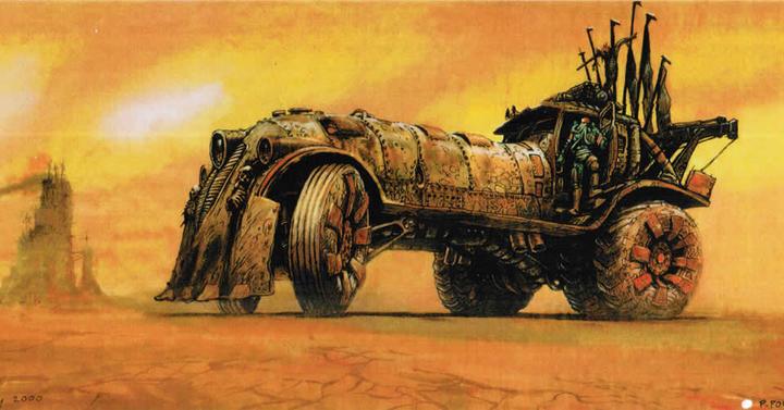 15 éves a Mad Max: Fury Road látványterve