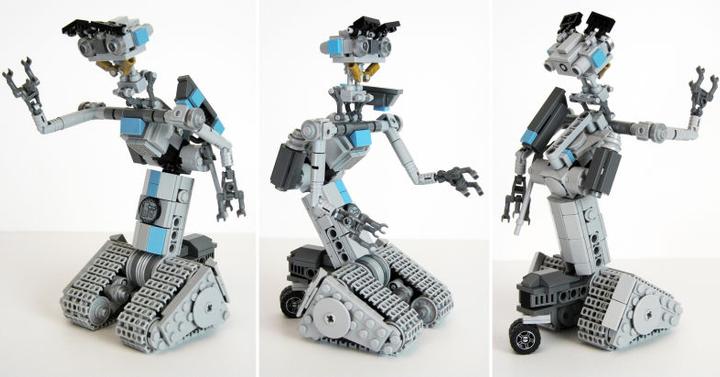 LEGO készletként térhet vissza Johnny Öt