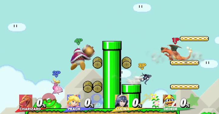 Vadonatúj Super Mario Maker pálya a Smash Bros.-höz