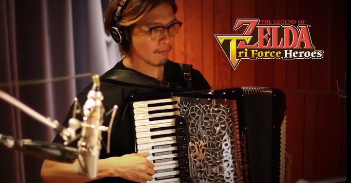 Így készült a Zelda: Tri Force Heroes üdítő muzsikája