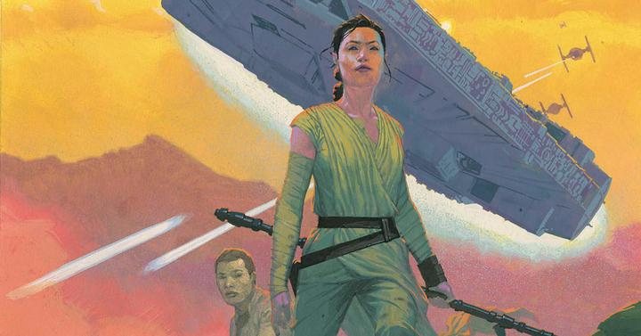 A Star Wars: Az ébredő Erő képregényváltozata is gyönyörű