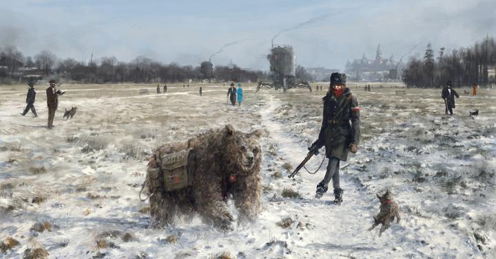 15 kép egy sosevolt Ká-Európáról, ahol mechák tapostak az ugaron