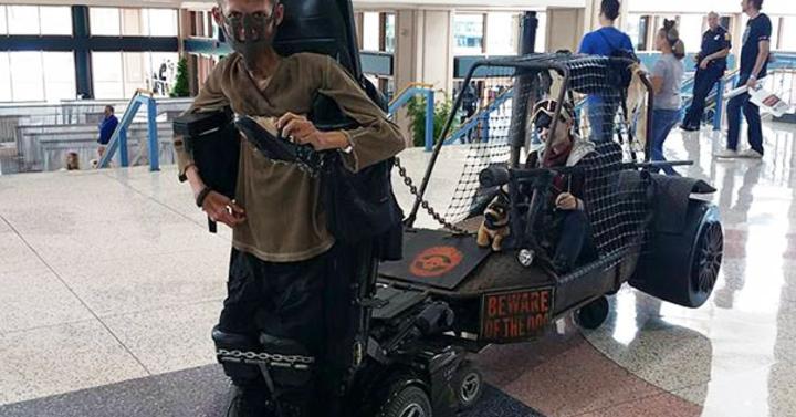 Egy mozgássérült srác elkészítette a lehető legkirályabb Mad Max copslayt