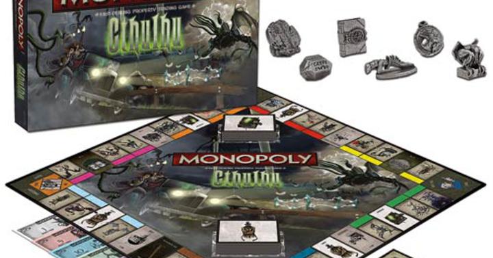 Cthulhu megtalálja Monopoly sötét ereklyéjét