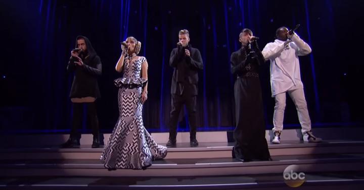 Star Wars a cappella az American Music Awards-on