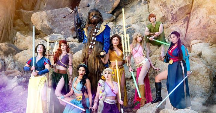 Így találkozik a Disney és a Star Wars világa