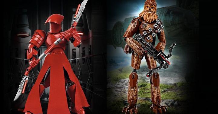 LEGO Star Wars megépíthető figurák | Chewbacca és Elit Testőr
