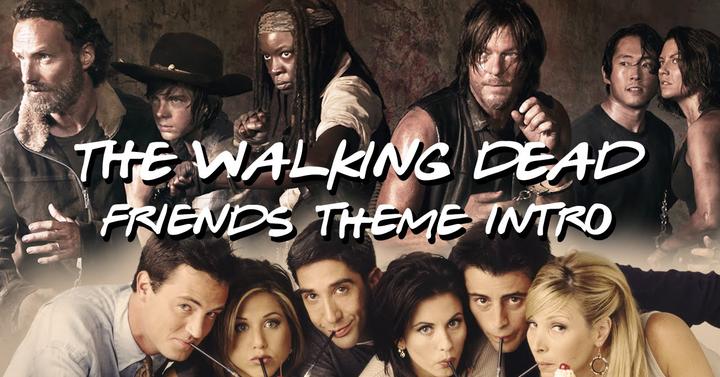 Jóbarátok vs. The Walking Dead