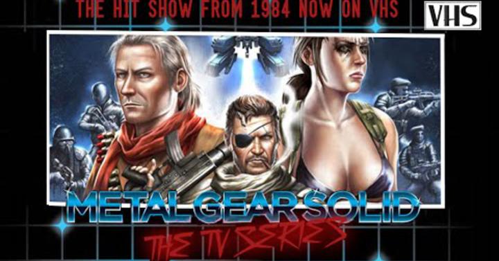 Ilyen lenne a Metal Gear Solid 5 80-as évekbeli tévésorozatként