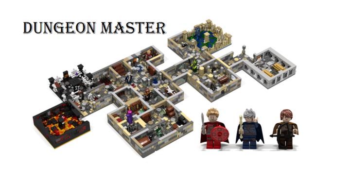 Így találkozik a Lego és az asztali szerepjátékok világa