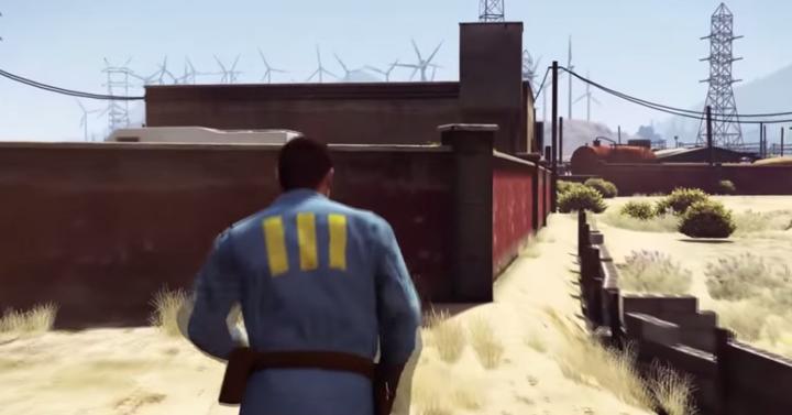 Ilyen a Fallout 4 a GTA 5-ben