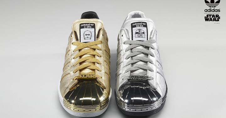 Személyre szabható Star Wars csukák az Adidastól