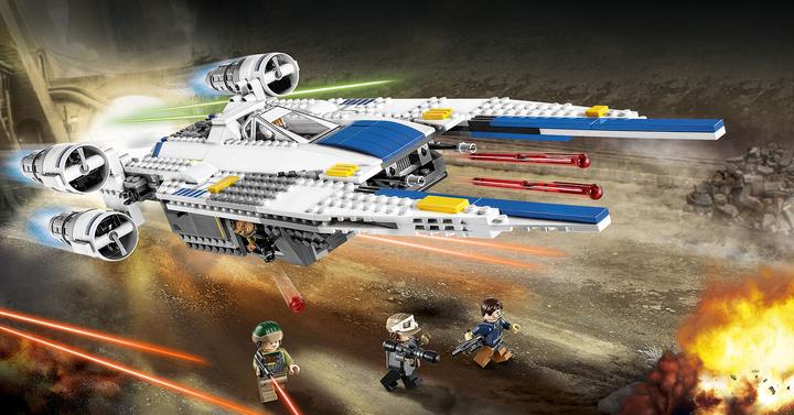 75155 Lázadó U-szárnyú vadászgép | LEGO bemutató