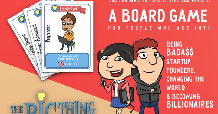 Itt egy kártyajáték vállalkozóknak és startuppereknek