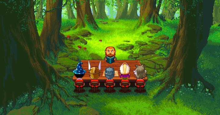 Knights of Pen and Paper 2 - pixelpornó RPG geekeknek