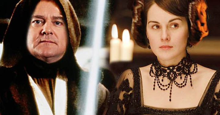 Downtown Abbey és Star Wars crossover