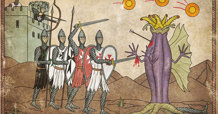 Így ölik a középkori lovagok Lovecraft szörnyeit