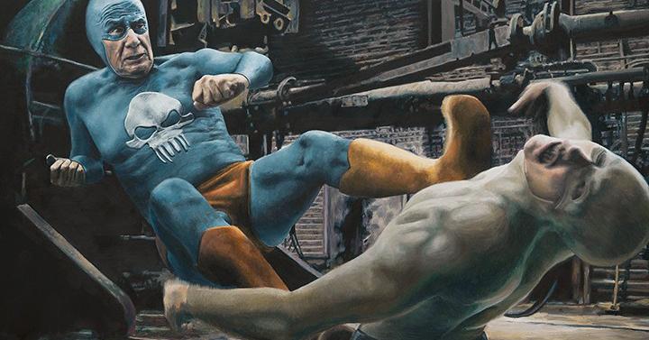 Így büntet az öregedő szuperhős