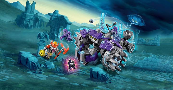 Lego Nexo Knights   Applikációval súlyosbított kockulás