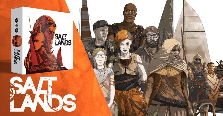 Elindult a Saltlands társasjáték Kickstarter-kampánya!