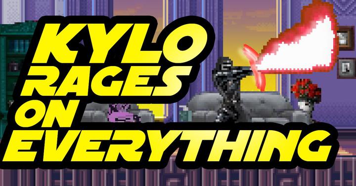 Kylo Ren kiakad mindenen