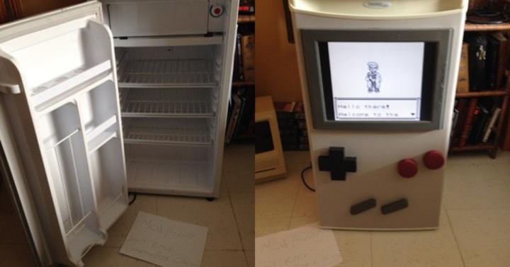 A nap hőse: hűtőből készített működő Game Boyt