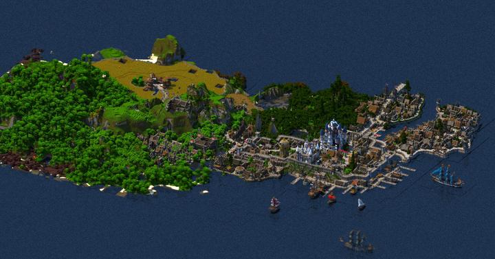 Egy magyar srác majdnem 5 éven át építette ezt a Minecraft királyságot