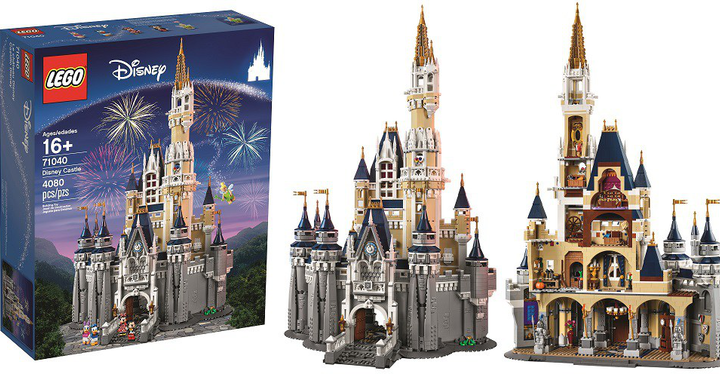 Idén már a Disney kastélyt is megépíthetjük legóból